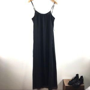 Forever 21 black maxi sundress